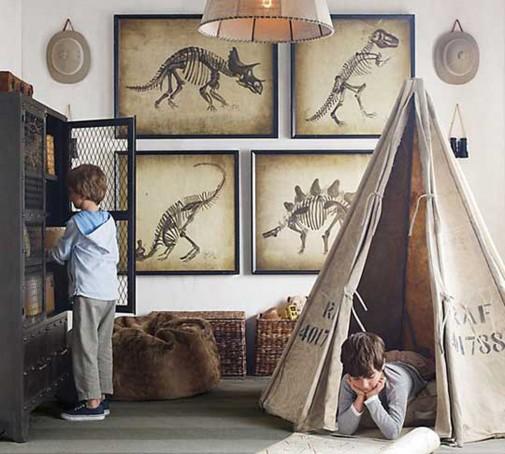 Šator za dečiju sobu