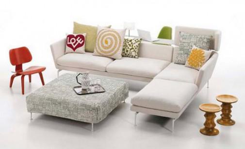 Sofa Vitra Suita sa stolom i stolicom