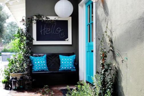 Tirkizna boja i u vašem dvorištu