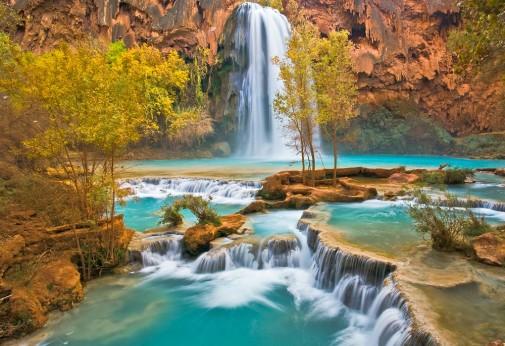Vodopad Havasu Arizona, Amerika