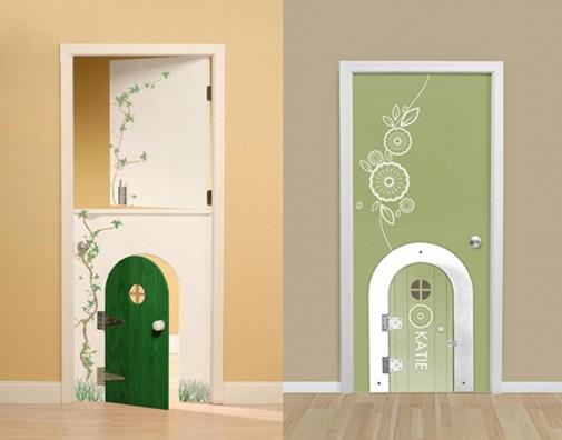 Vrata namenjena deci