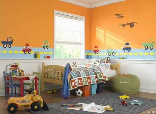 Zabavna soba za dečaka