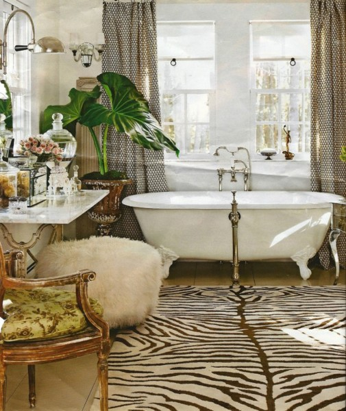 Zelene biljke upotpunjuju kupatilo