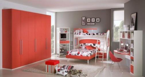 Crvena soba za tinejdžere