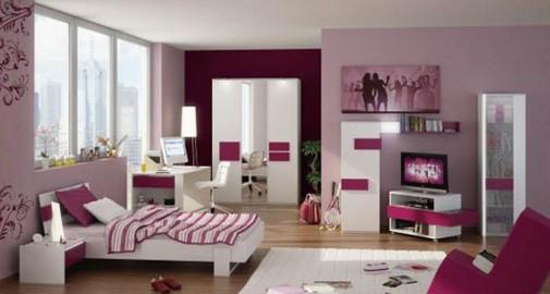 Ljubičasta soba za tinejdžere