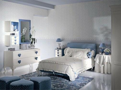 Plava soba za tinejdžere