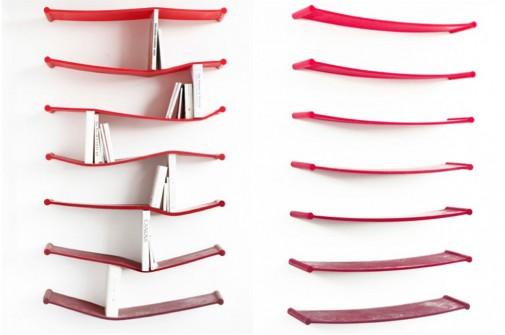 Crvene police za knjige