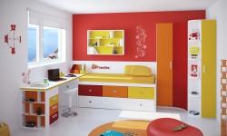 Dečija soba u više boja