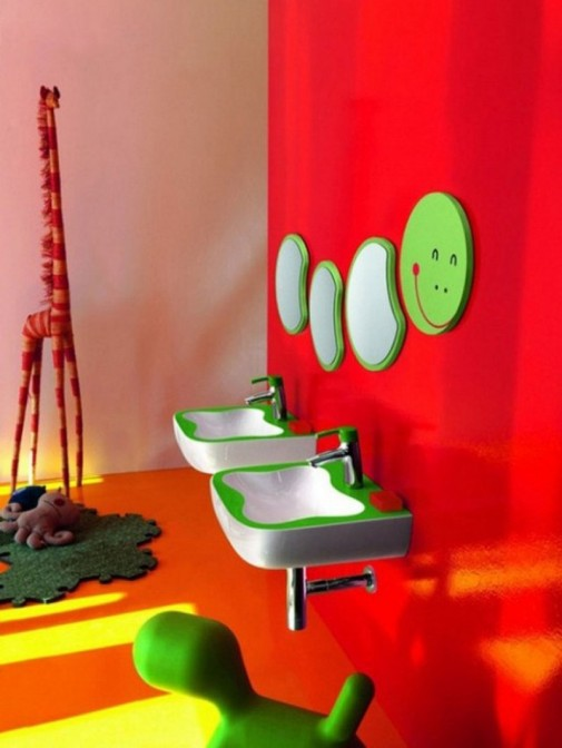 Dečje kupatilo u bojama