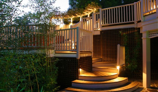 Dvorišne drvene terase