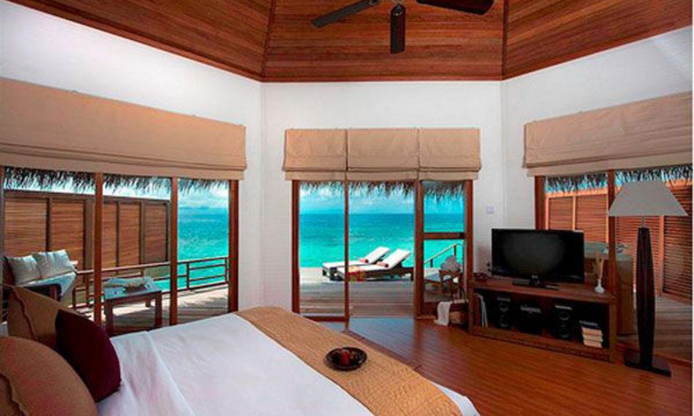 Egzotična spavaća soba