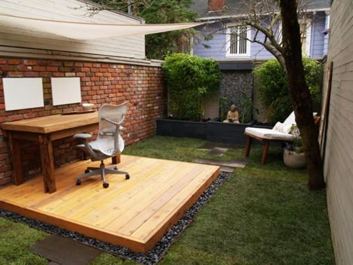 Kancelarija u dvorištu