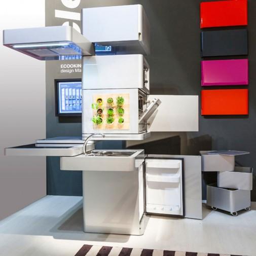 Kompaktna kuhinja za uštedu prostora