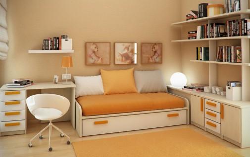 Krem-narandžasta kombinacija