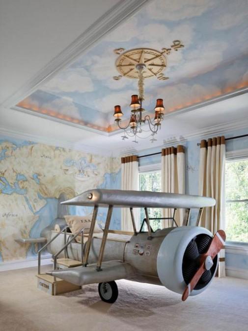 Krevet u obliku aviona