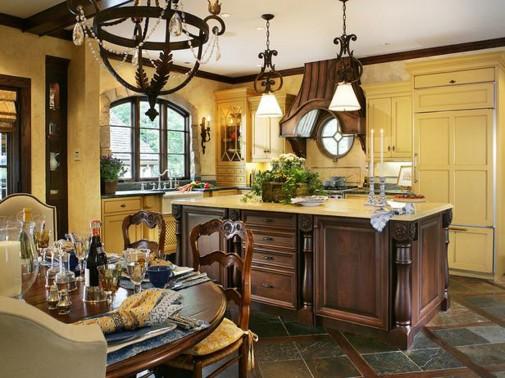 Kuhinja opremljena u stilu omiljene destinacije