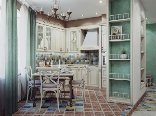 Kuhinja pastelnih boja