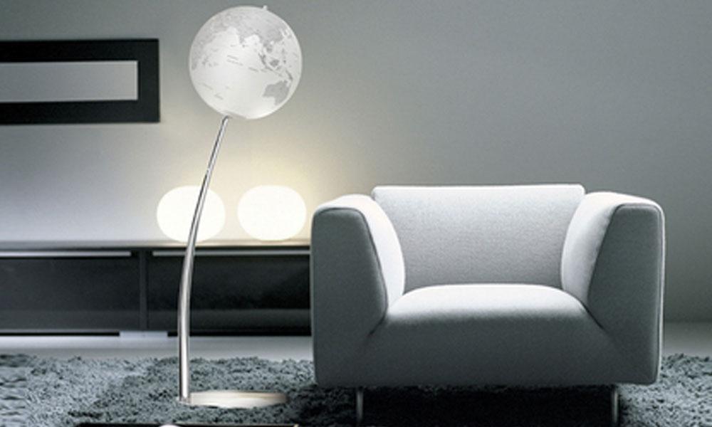 Lampa u obliku globusa