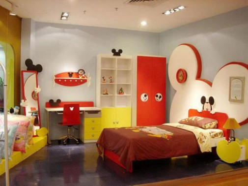 Miki Maus dečija soba