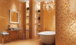 Moderno dizajnirano kupatilo