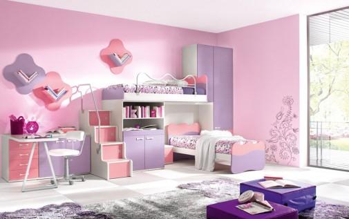 Roze soba za devojčicu