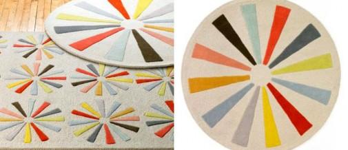 Šareni okrugli tepisi