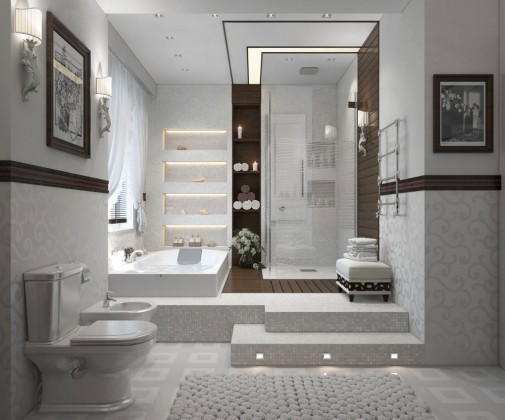Savremeno spa kupatilo