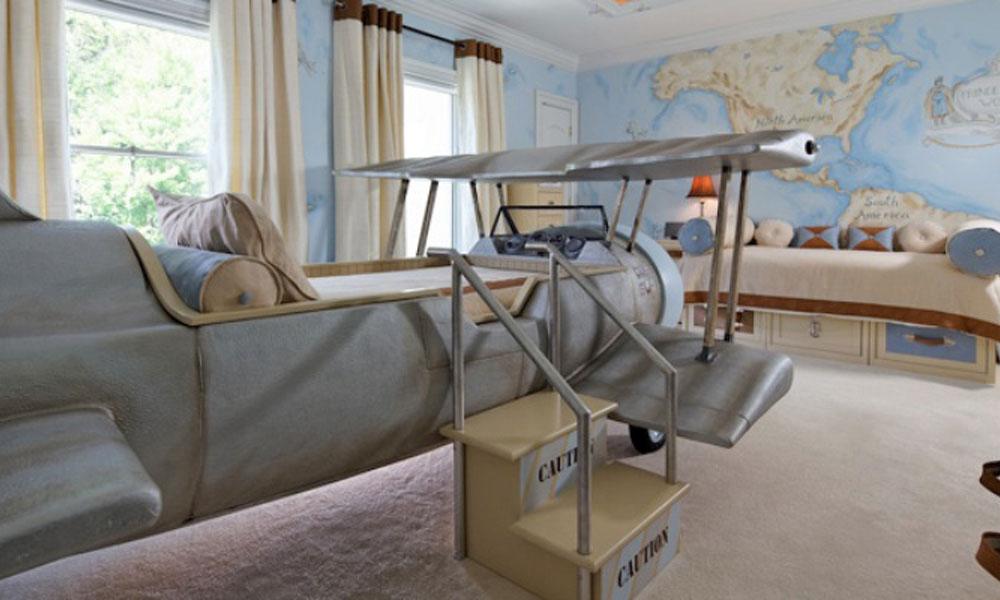 Soba za dečaka avijatičara