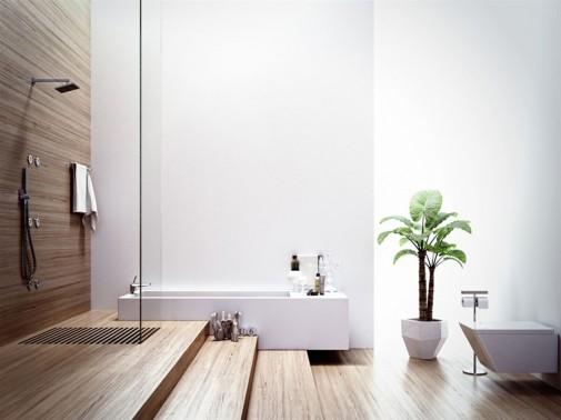 Spa kupatilo sa drvenim elementima