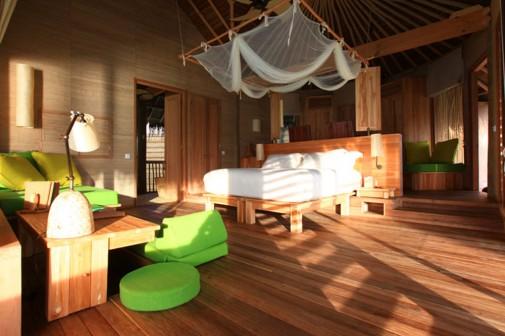 Spavaća soba na Maldivima
