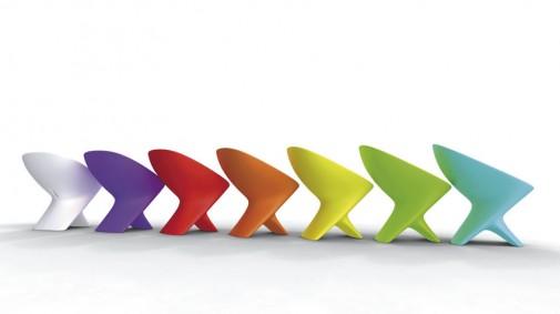 Stolice u više boja