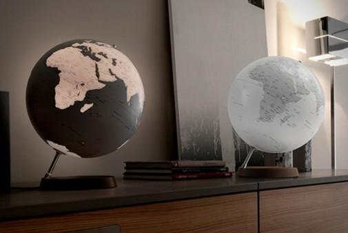 Stone lampe Globus
