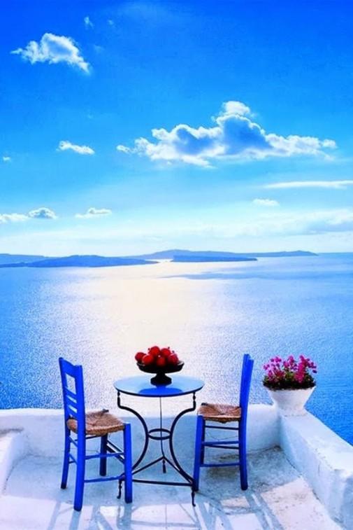 Terasa sa pogledom na more