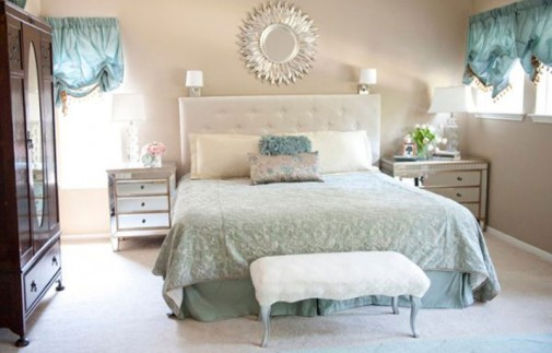 Tirkizna posteljina