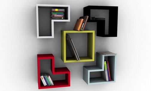 Trendi police za knjige