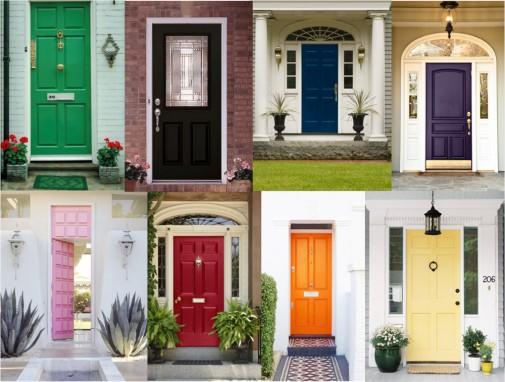 Ulazna vrata u boji