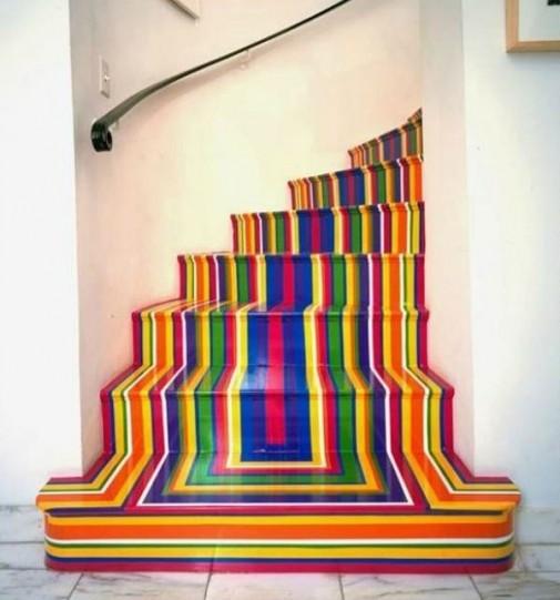 Šarene stepenice slika 1