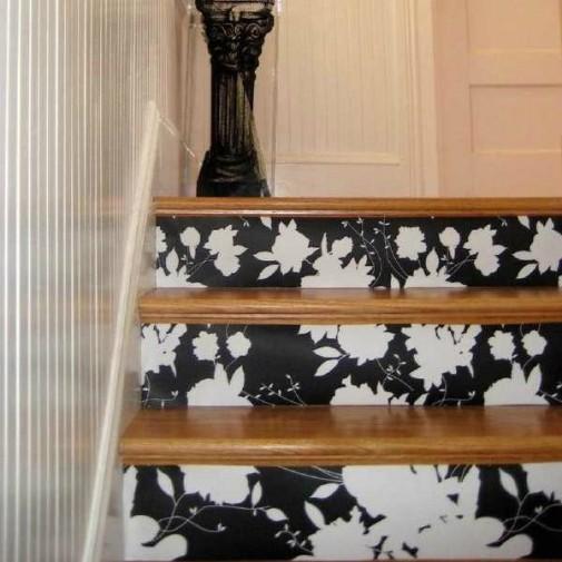 Stepenice sa tapetama