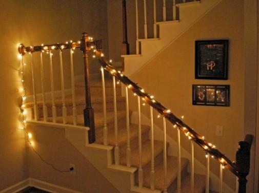 Stepenice sa svetiljkama