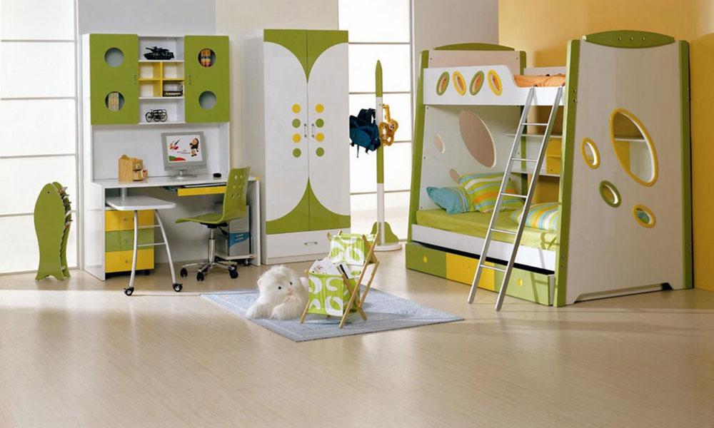 Zelena dečja soba