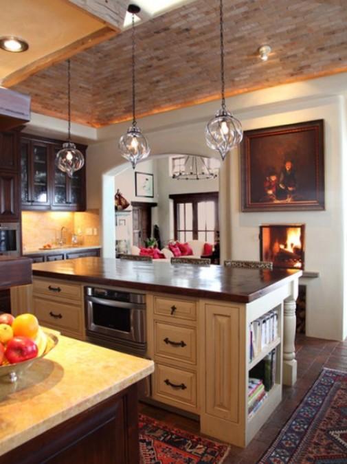 Persijski tepih u kuhinji