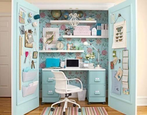 Uredna i funkcionalna kućna kancelarija
