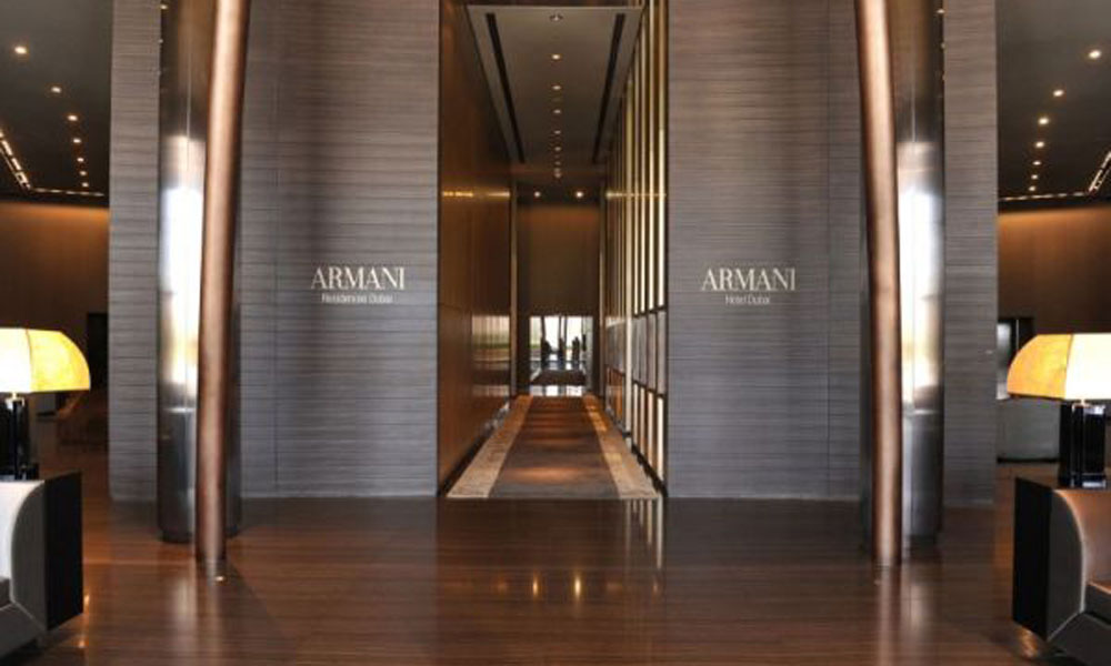 Armani hotel u Dubaiju