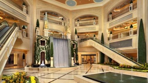 Dekor hotela je u italijanskom stilu