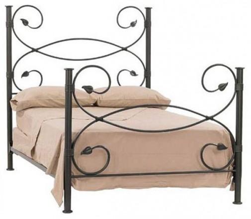 Dizajn kreveta od kovanog gvožđa