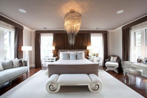 Elegantna spavaća soba