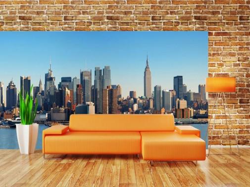 Foto-tapeta sa panoramom Njujorka