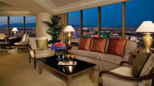 Jedan od mirnih hotela u Vegasu