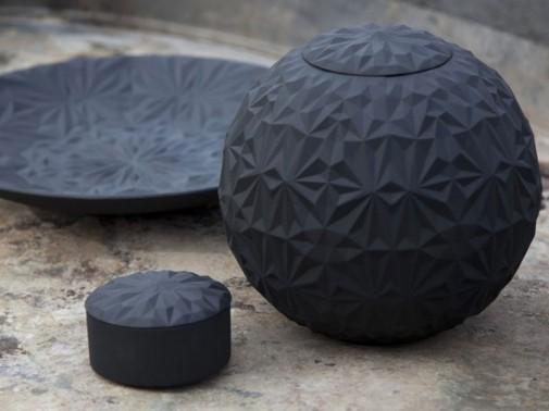 Keramika u crnoj boji