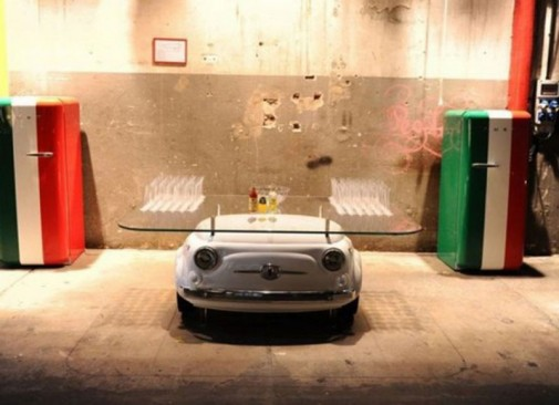 Konzola Fiat 500